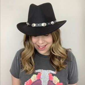 Accessories - Eventide Western Boho Hat Black